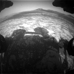 Nasa's Mars rover Curiosity acquired this image using its Front Hazard Avoidance Camera (Front Hazcam) on Sol 2781, at drive 2444, site number 79