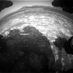 Nasa's Mars rover Curiosity acquired this image using its Front Hazard Avoidance Camera (Front Hazcam) on Sol 2781, at drive 2456, site number 79