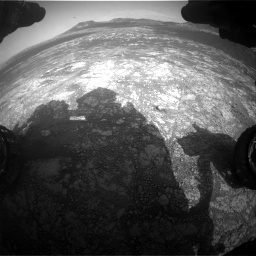 Nasa's Mars rover Curiosity acquired this image using its Front Hazard Avoidance Camera (Front Hazcam) on Sol 2781, at drive 2462, site number 79