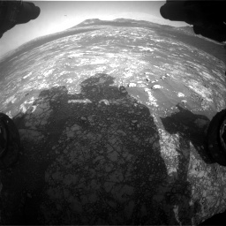 Nasa's Mars rover Curiosity acquired this image using its Front Hazard Avoidance Camera (Front Hazcam) on Sol 2781, at drive 2474, site number 79
