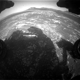 Nasa's Mars rover Curiosity acquired this image using its Front Hazard Avoidance Camera (Front Hazcam) on Sol 2781, at drive 2480, site number 79