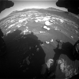 Nasa's Mars rover Curiosity acquired this image using its Front Hazard Avoidance Camera (Front Hazcam) on Sol 2781, at drive 2516, site number 79