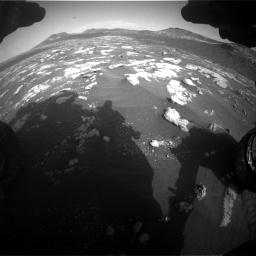 Nasa's Mars rover Curiosity acquired this image using its Front Hazard Avoidance Camera (Front Hazcam) on Sol 2781, at drive 2522, site number 79