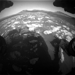 Nasa's Mars rover Curiosity acquired this image using its Front Hazard Avoidance Camera (Front Hazcam) on Sol 2781, at drive 2540, site number 79