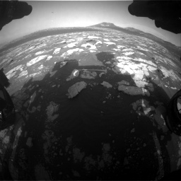 Nasa's Mars rover Curiosity acquired this image using its Front Hazard Avoidance Camera (Front Hazcam) on Sol 2781, at drive 2582, site number 79