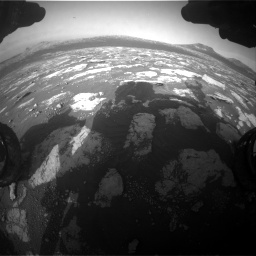 Nasa's Mars rover Curiosity acquired this image using its Front Hazard Avoidance Camera (Front Hazcam) on Sol 2781, at drive 2606, site number 79