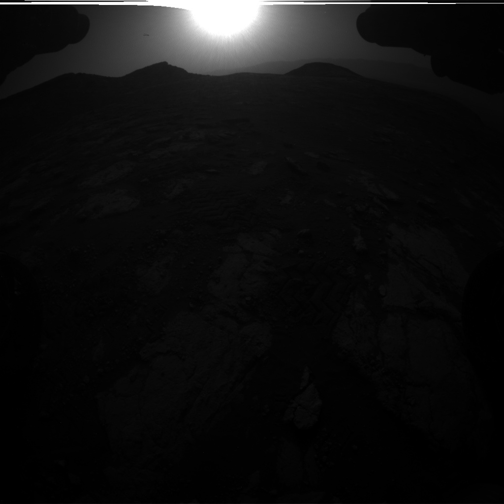 Nasa's Mars rover Curiosity acquired this image using its Front Hazard Avoidance Camera (Front Hazcam) on Sol 2781, at drive 2640, site number 79