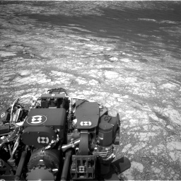 Nasa's Mars rover Curiosity acquired this image using its Left Navigation Camera on Sol 2781, at drive 2438, site number 79
