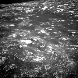 Nasa's Mars rover Curiosity acquired this image using its Left Navigation Camera on Sol 2781, at drive 2474, site number 79