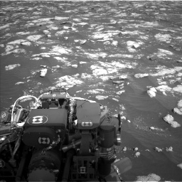 Nasa's Mars rover Curiosity acquired this image using its Left Navigation Camera on Sol 2781, at drive 2510, site number 79