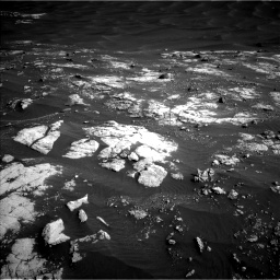 Nasa's Mars rover Curiosity acquired this image using its Left Navigation Camera on Sol 2781, at drive 2516, site number 79