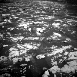 Nasa's Mars rover Curiosity acquired this image using its Left Navigation Camera on Sol 2781, at drive 2522, site number 79
