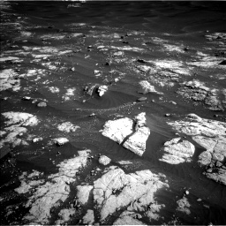 Nasa's Mars rover Curiosity acquired this image using its Left Navigation Camera on Sol 2781, at drive 2534, site number 79