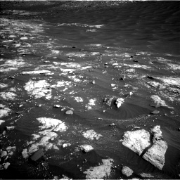 Nasa's Mars rover Curiosity acquired this image using its Left Navigation Camera on Sol 2781, at drive 2540, site number 79