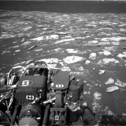Nasa's Mars rover Curiosity acquired this image using its Left Navigation Camera on Sol 2781, at drive 2552, site number 79