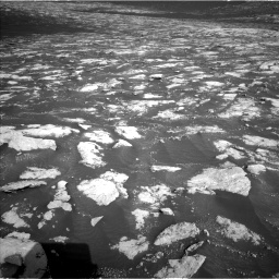 Nasa's Mars rover Curiosity acquired this image using its Left Navigation Camera on Sol 2781, at drive 2588, site number 79