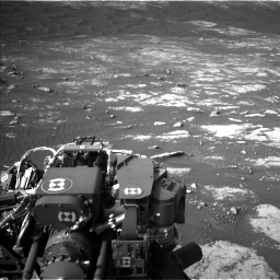 Nasa's Mars rover Curiosity acquired this image using its Left Navigation Camera on Sol 2781, at drive 2594, site number 79