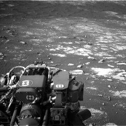 Nasa's Mars rover Curiosity acquired this image using its Left Navigation Camera on Sol 2781, at drive 2606, site number 79