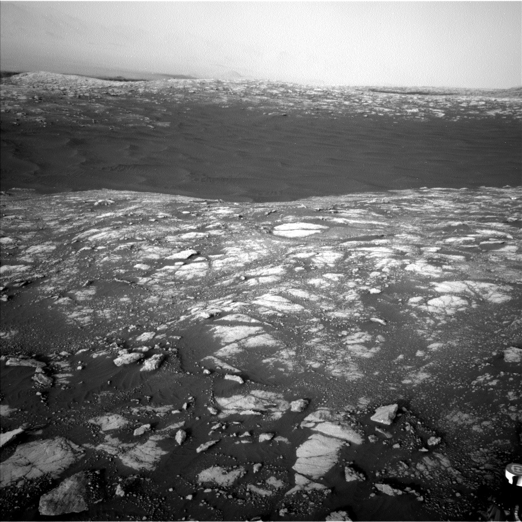 Nasa's Mars rover Curiosity acquired this image using its Left Navigation Camera on Sol 2781, at drive 2640, site number 79
