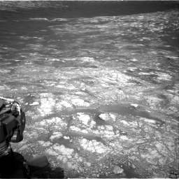 Nasa's Mars rover Curiosity acquired this image using its Right Navigation Camera on Sol 2781, at drive 2450, site number 79