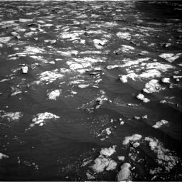Nasa's Mars rover Curiosity acquired this image using its Right Navigation Camera on Sol 2781, at drive 2504, site number 79
