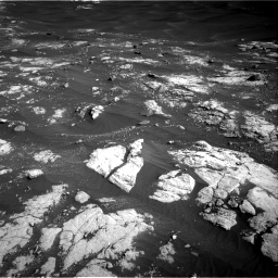 Nasa's Mars rover Curiosity acquired this image using its Right Navigation Camera on Sol 2781, at drive 2534, site number 79