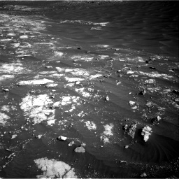 Nasa's Mars rover Curiosity acquired this image using its Right Navigation Camera on Sol 2781, at drive 2552, site number 79