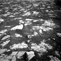 Nasa's Mars rover Curiosity acquired this image using its Right Navigation Camera on Sol 2781, at drive 2582, site number 79