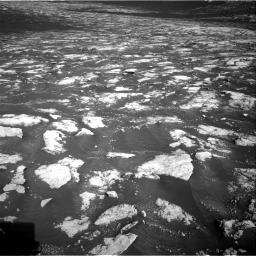 Nasa's Mars rover Curiosity acquired this image using its Right Navigation Camera on Sol 2781, at drive 2588, site number 79