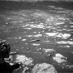Nasa's Mars rover Curiosity acquired this image using its Right Navigation Camera on Sol 2781, at drive 2594, site number 79