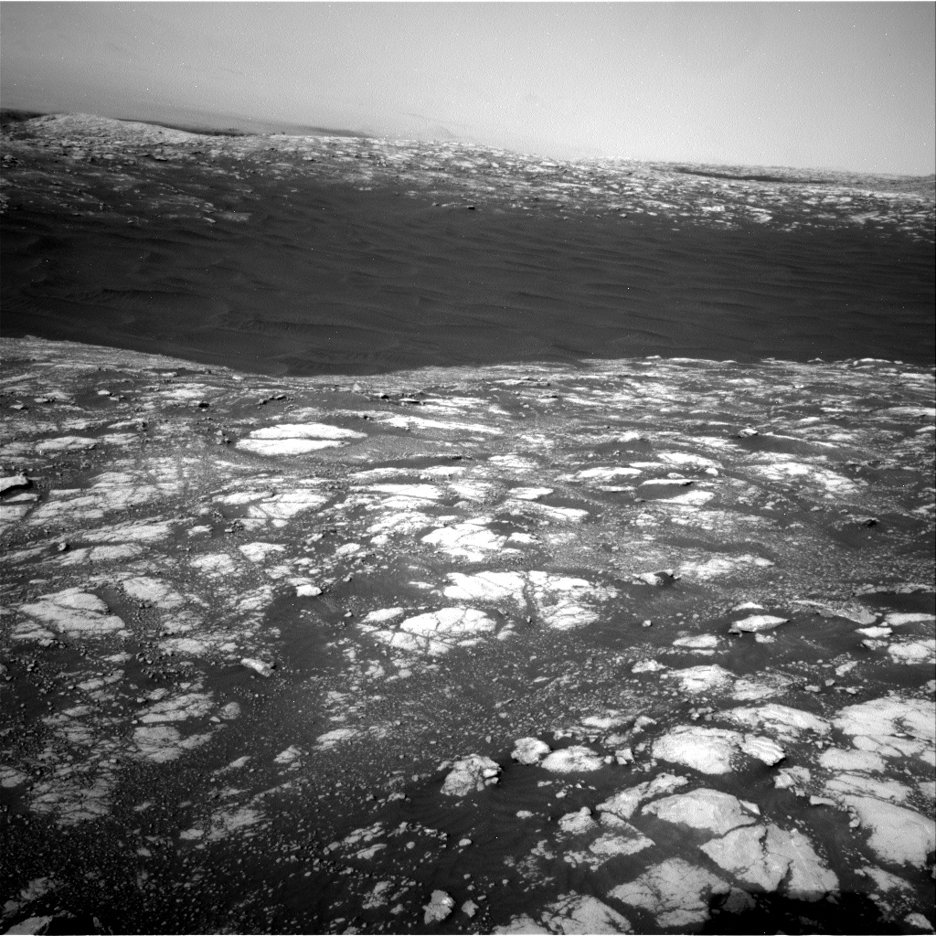 Nasa's Mars rover Curiosity acquired this image using its Right Navigation Camera on Sol 2781, at drive 2630, site number 79