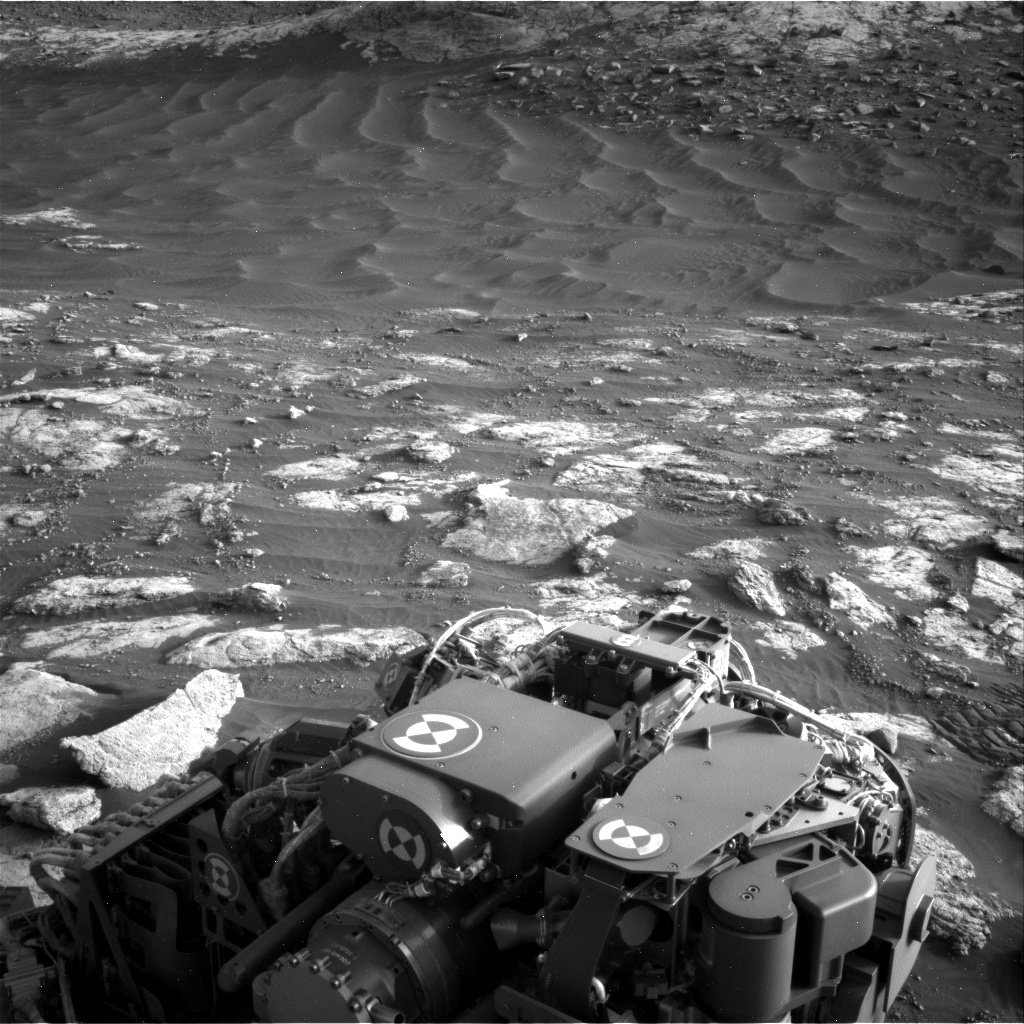 Nasa's Mars rover Curiosity acquired this image using its Right Navigation Camera on Sol 2781, at drive 2640, site number 79