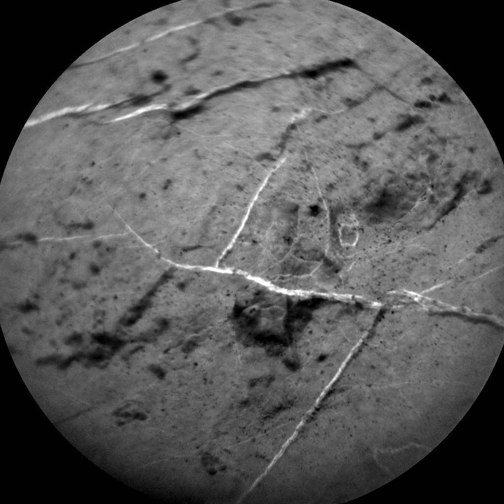 Nasa's Mars rover Curiosity acquired this image using its Chemistry & Camera (ChemCam) on Sol 2781, at drive 2330, site number 79