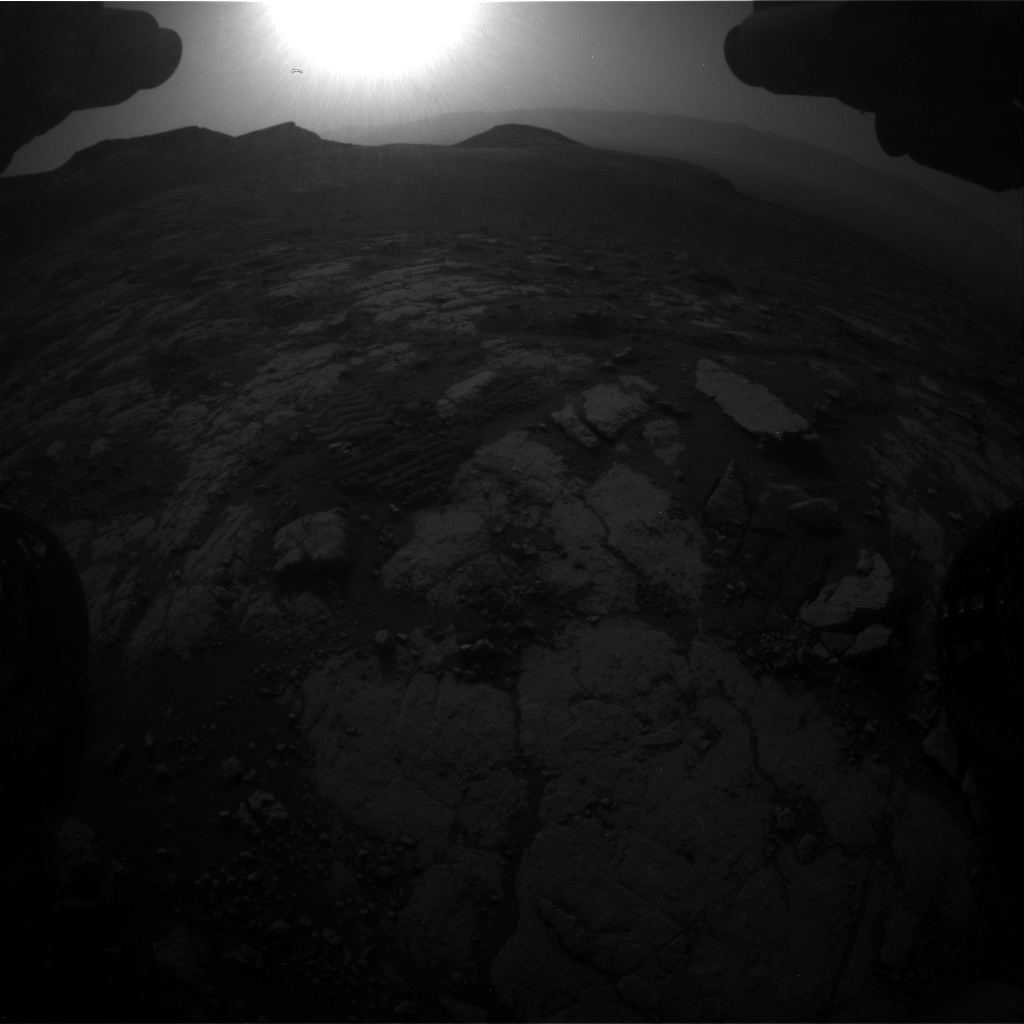 Nasa's Mars rover Curiosity acquired this image using its Front Hazard Avoidance Camera (Front Hazcam) on Sol 2783, at drive 0, site number 80