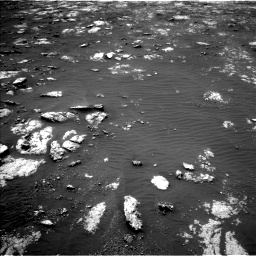 Nasa's Mars rover Curiosity acquired this image using its Left Navigation Camera on Sol 2783, at drive 2640, site number 79