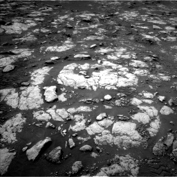 Nasa's Mars rover Curiosity acquired this image using its Left Navigation Camera on Sol 2783, at drive 2706, site number 79