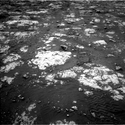 Nasa's Mars rover Curiosity acquired this image using its Left Navigation Camera on Sol 2783, at drive 2808, site number 79