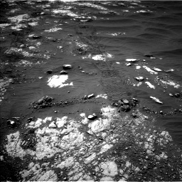 Nasa's Mars rover Curiosity acquired this image using its Left Navigation Camera on Sol 2783, at drive 2886, site number 79