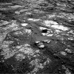 Nasa's Mars rover Curiosity acquired this image using its Left Navigation Camera on Sol 2783, at drive 2926, site number 79