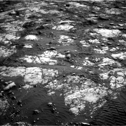 Nasa's Mars rover Curiosity acquired this image using its Left Navigation Camera on Sol 2783, at drive 2968, site number 79