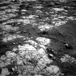 Nasa's Mars rover Curiosity acquired this image using its Left Navigation Camera on Sol 2783, at drive 2986, site number 79