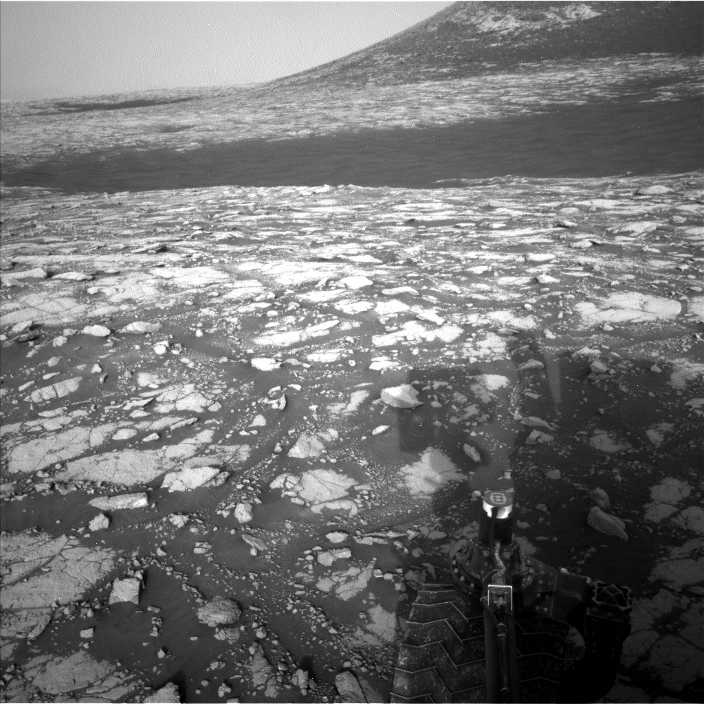 Nasa's Mars rover Curiosity acquired this image using its Left Navigation Camera on Sol 2783, at drive 0, site number 80