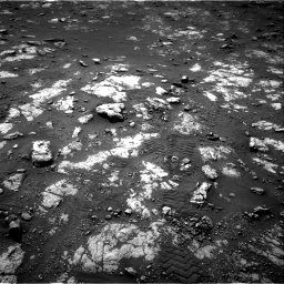 Nasa's Mars rover Curiosity acquired this image using its Right Navigation Camera on Sol 2783, at drive 2676, site number 79