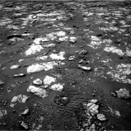 Nasa's Mars rover Curiosity acquired this image using its Right Navigation Camera on Sol 2783, at drive 2748, site number 79