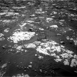 Nasa's Mars rover Curiosity acquired this image using its Right Navigation Camera on Sol 2783, at drive 2808, site number 79