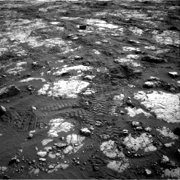 Nasa's Mars rover Curiosity acquired this image using its Right Navigation Camera on Sol 2783, at drive 2950, site number 79