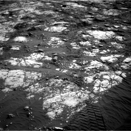 Nasa's Mars rover Curiosity acquired this image using its Right Navigation Camera on Sol 2783, at drive 2968, site number 79