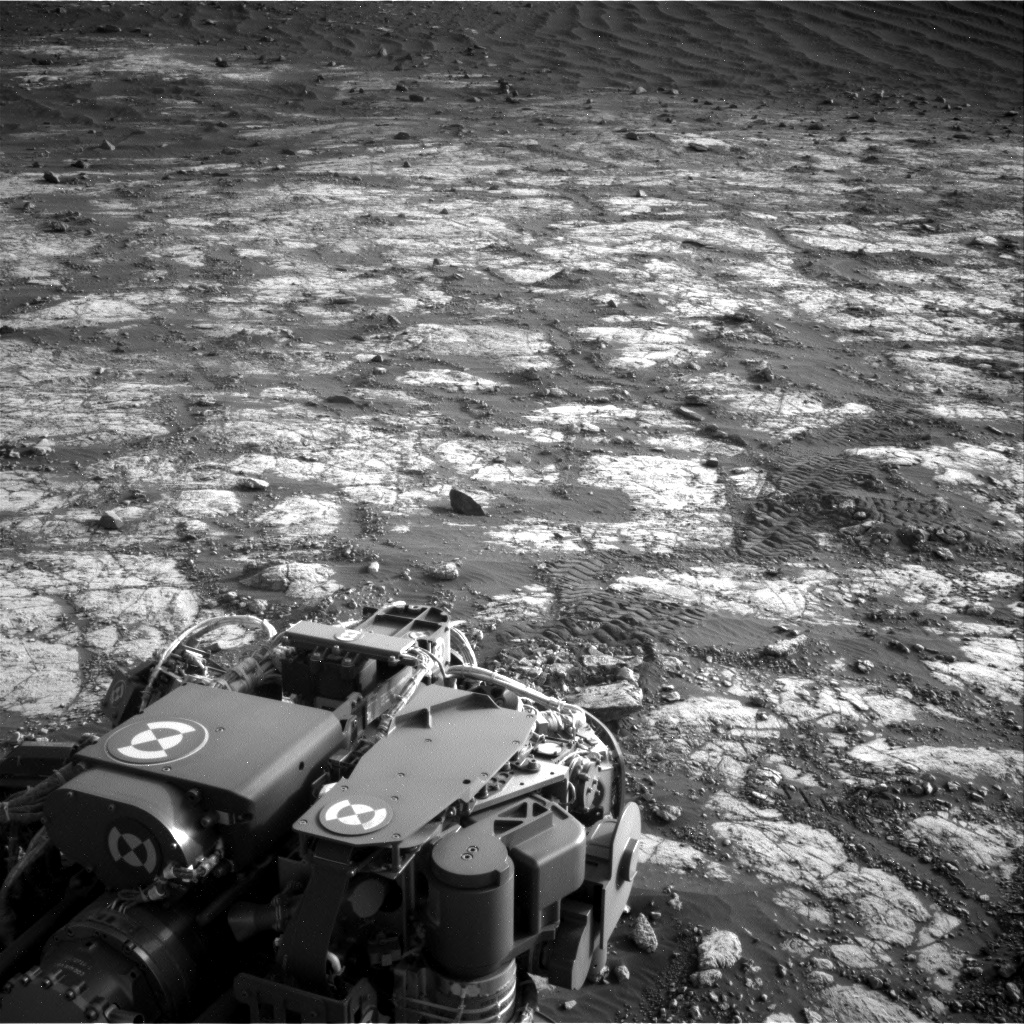 Nasa's Mars rover Curiosity acquired this image using its Right Navigation Camera on Sol 2783, at drive 0, site number 80