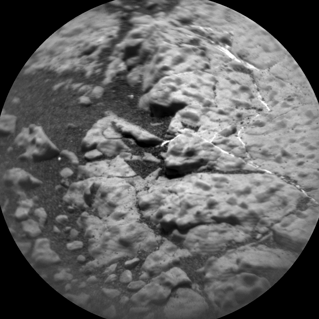 Nasa's Mars rover Curiosity acquired this image using its Chemistry & Camera (ChemCam) on Sol 2783, at drive 2640, site number 79