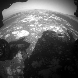Nasa's Mars rover Curiosity acquired this image using its Front Hazard Avoidance Camera (Front Hazcam) on Sol 2786, at drive 252, site number 80